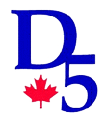 Logo for Ontario District 5 Little League